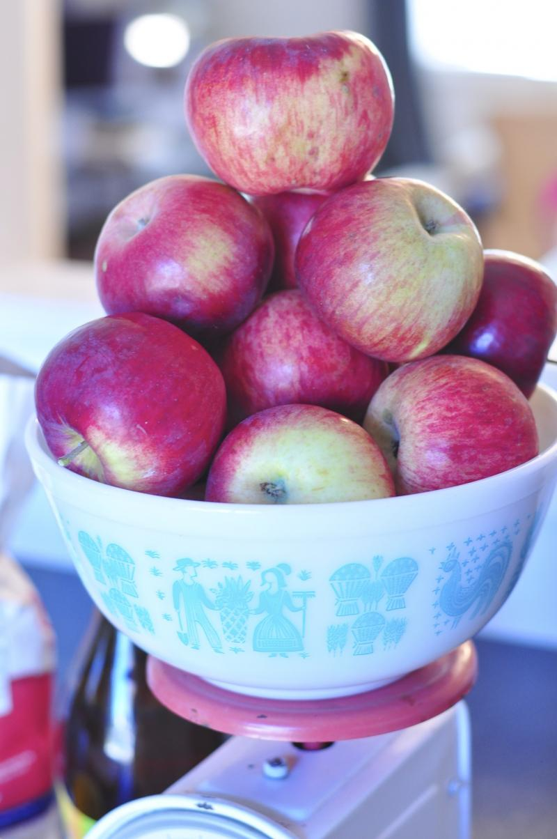 applesauce, slow cooker, easy slow cooker recipe, homemade applesauce, applesauce recipe, easy dessert recipes, apple dessert, katja wulfers, Around The Table