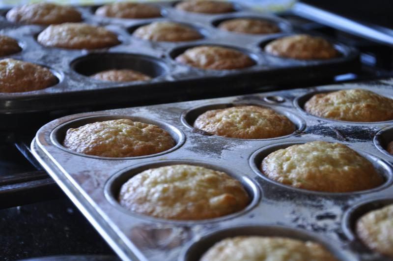 zucchini, banana, muffins recipe, baking, dessert, treat, healthy