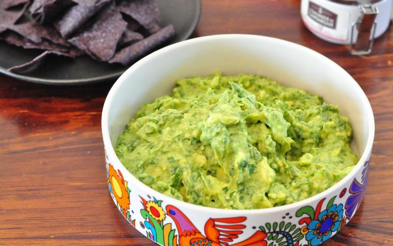 A quick and delicious recipe to start the day for hues rancheros with a side of the best guacamole this side of anywhere.