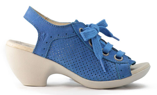 Fly London Bay Blue Sandals
