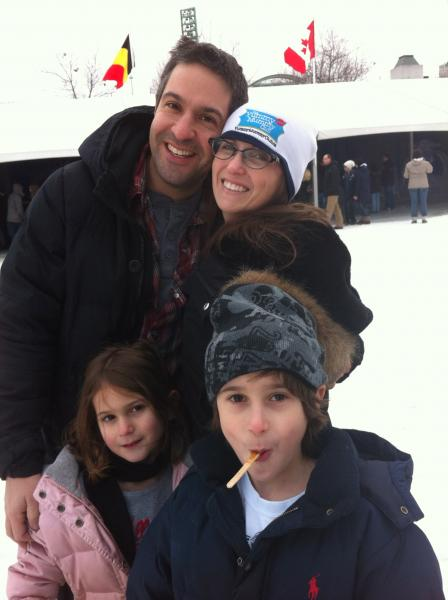 Ali and Gav Martell at Winterlude