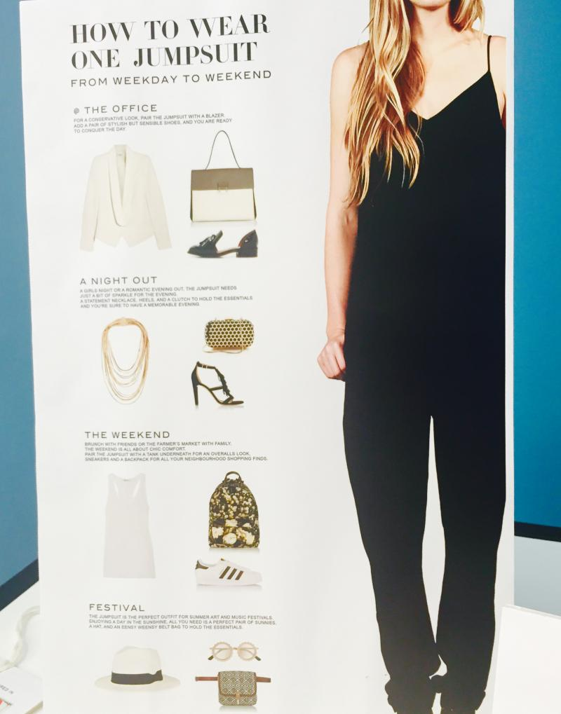 How to wear aTaessa Chorney Jumpsuit