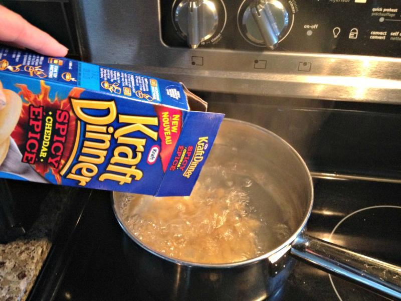 Easy recipes using kraft dinner