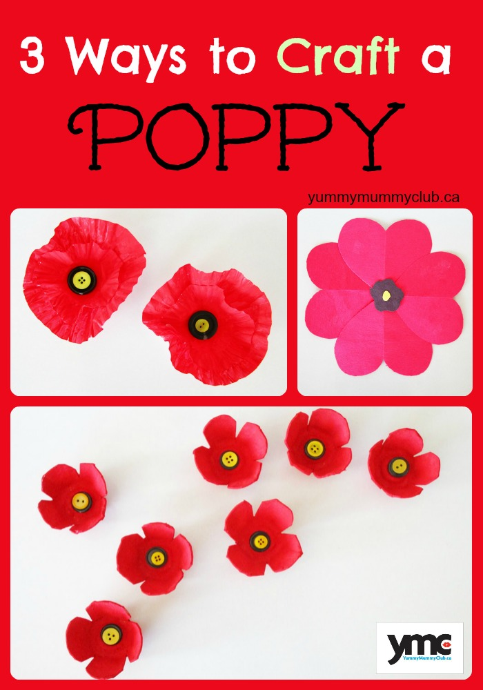 3 Ways to Craft a Poppy