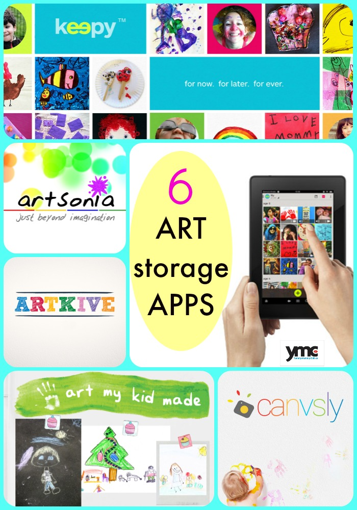 Six art storage apps