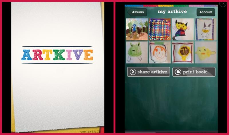 ArtKive art storage app.