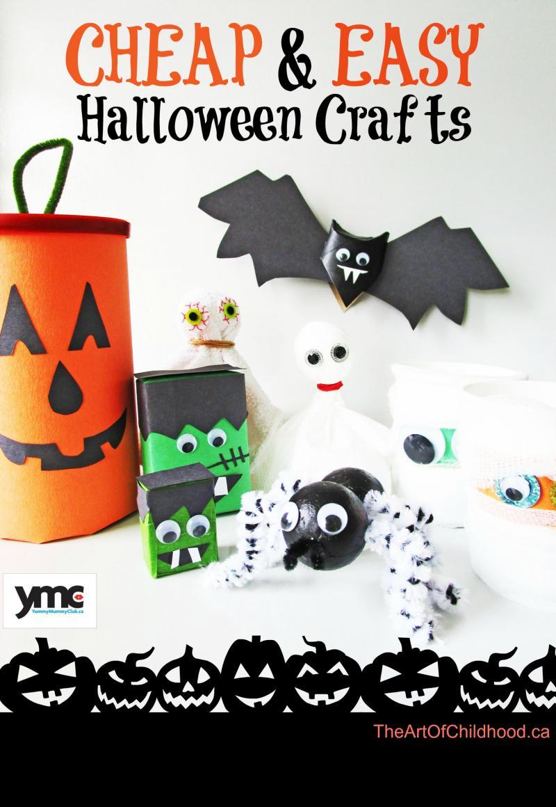 6 Boo-tiful Halloween Crafts for Your Kids :: YummyMummyClub.ca