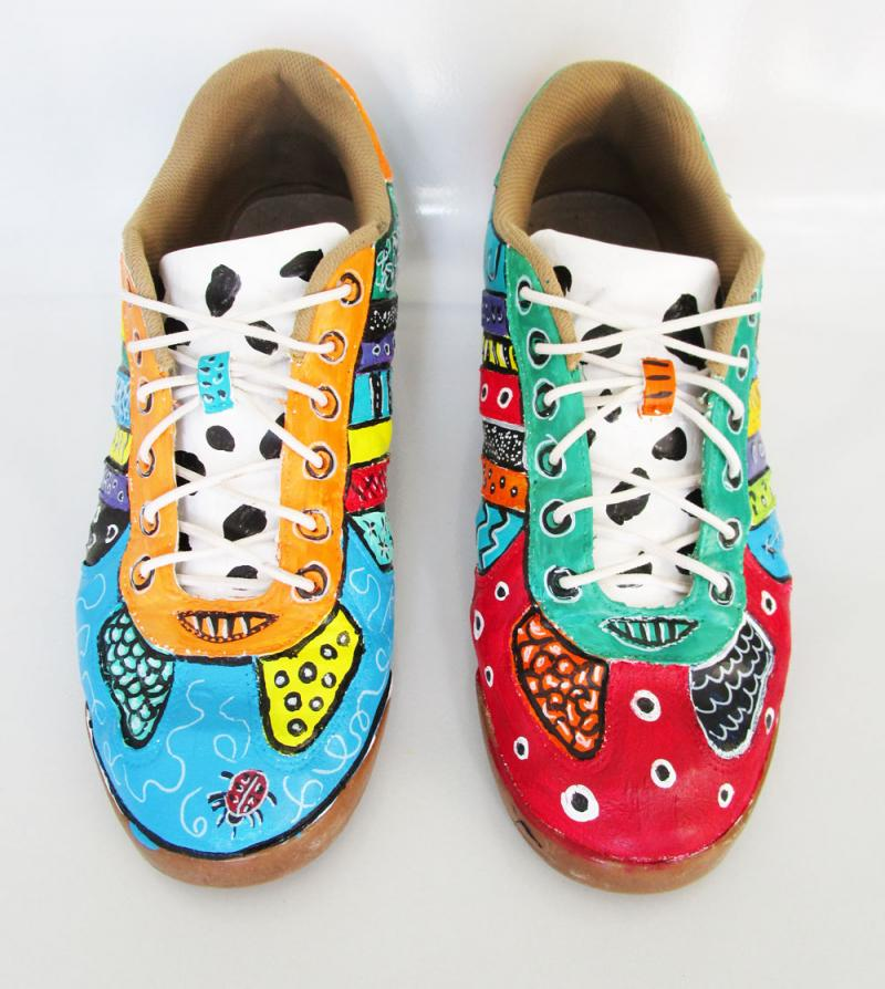 Painted shoes are awesome!