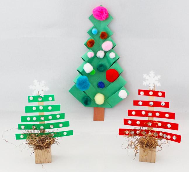 Christmas Tree Craft.5 Minute Super Cute Christmas Tree Crafts Yummymummyclub Ca