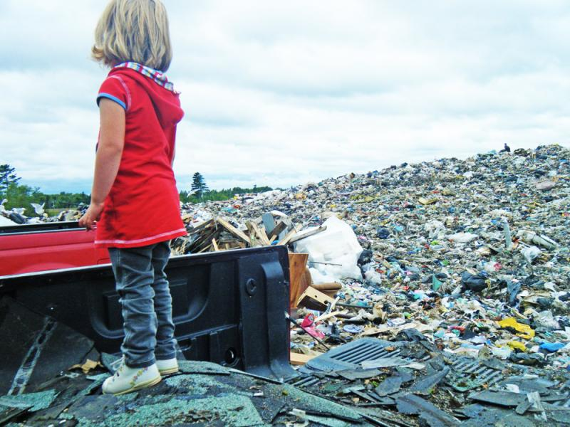 Landfills are full of useful items.
