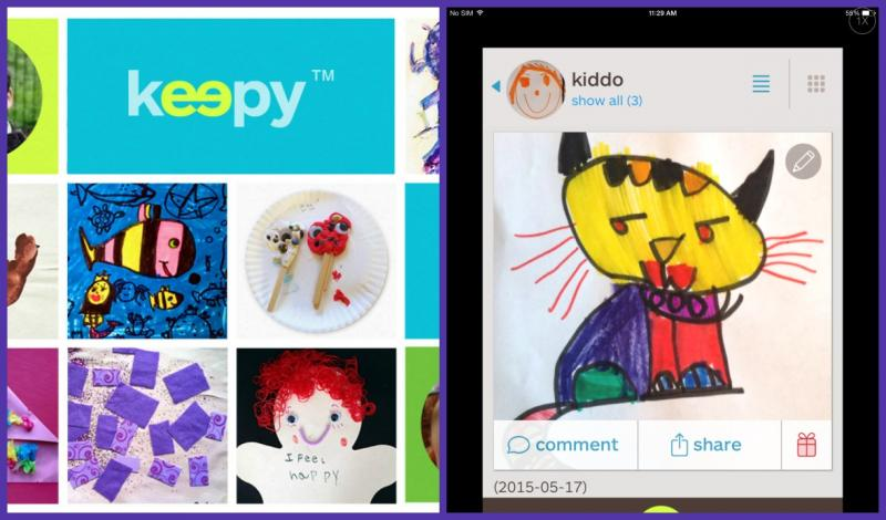 Keepy art storage app.