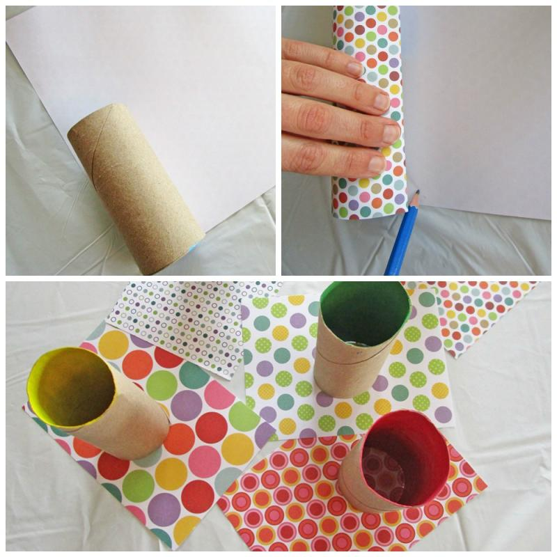 Diy floral egg holders your kids can make Kids toilet paper holder