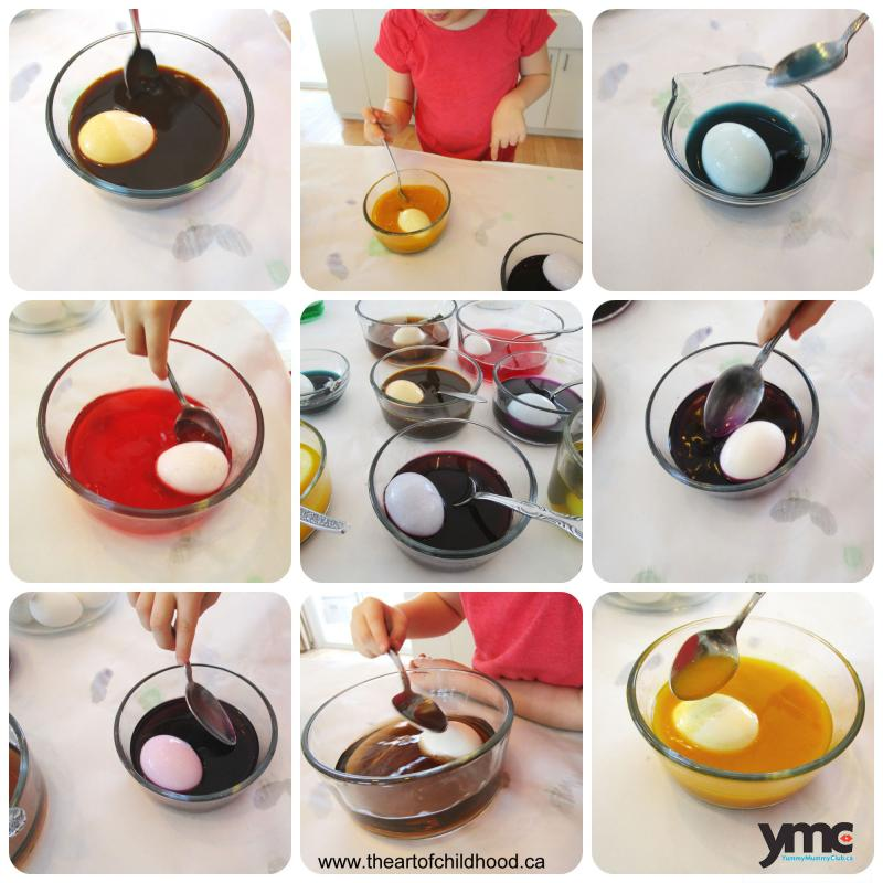 Add colour to Easter eggs by making your own safe and natural dyes