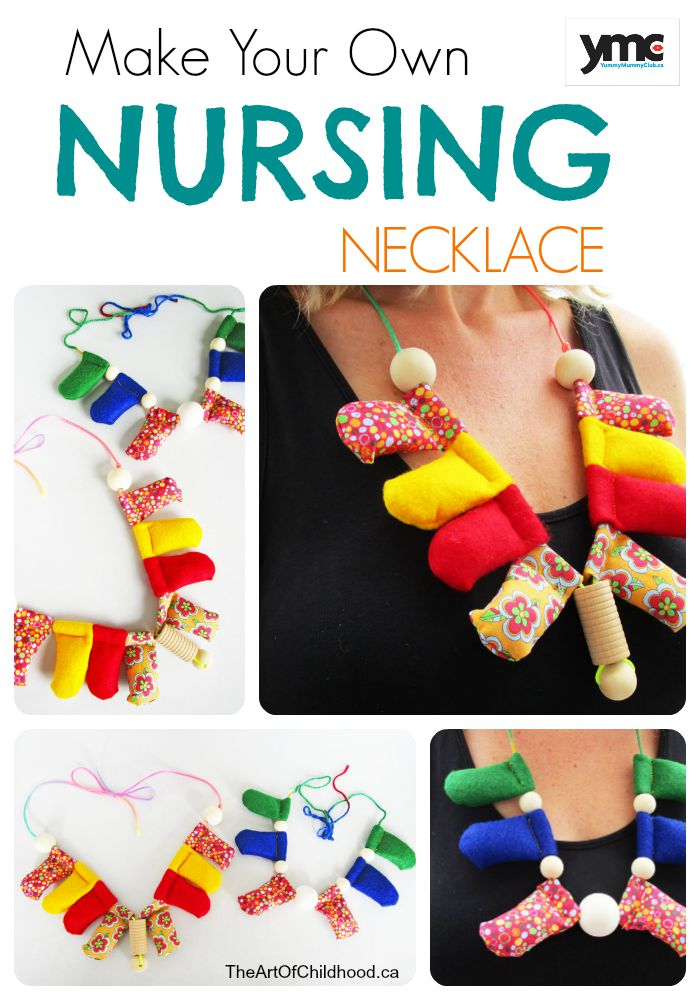 Make Your Own Nursing Necklace