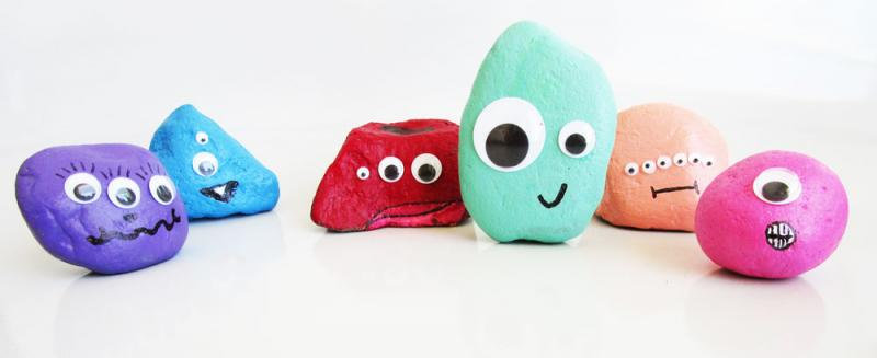 Rock monsters. So cute.