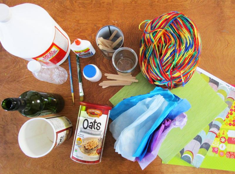5 Cool Craft Containers Kids Can Make as Gifts - Kids can turn trash into treasures for teachers, grandparents, and friends with a little time and some love. | Upcycling | DIY | Kid-friendly | YummyMummyClub.ca