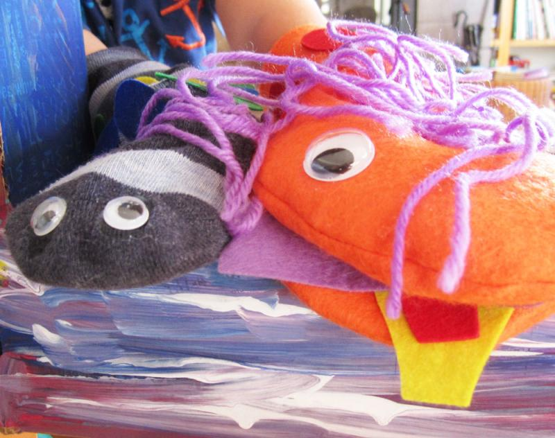 Puppets are a great way for kids to express themselves.