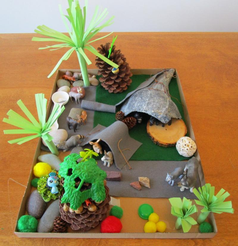 Animal Habitats Crafts For Kindergarten