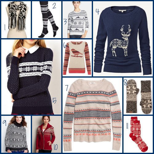 11 Great Ways To Wear Fair Isle This Winter :: YummyMummyClub.ca
