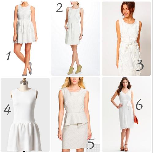 White Is The New Black: The Little White Dress :: YummyMummyClub.ca