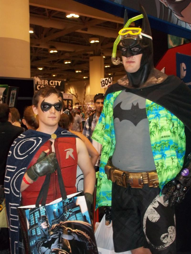 batman-robin-beach-fan-expo